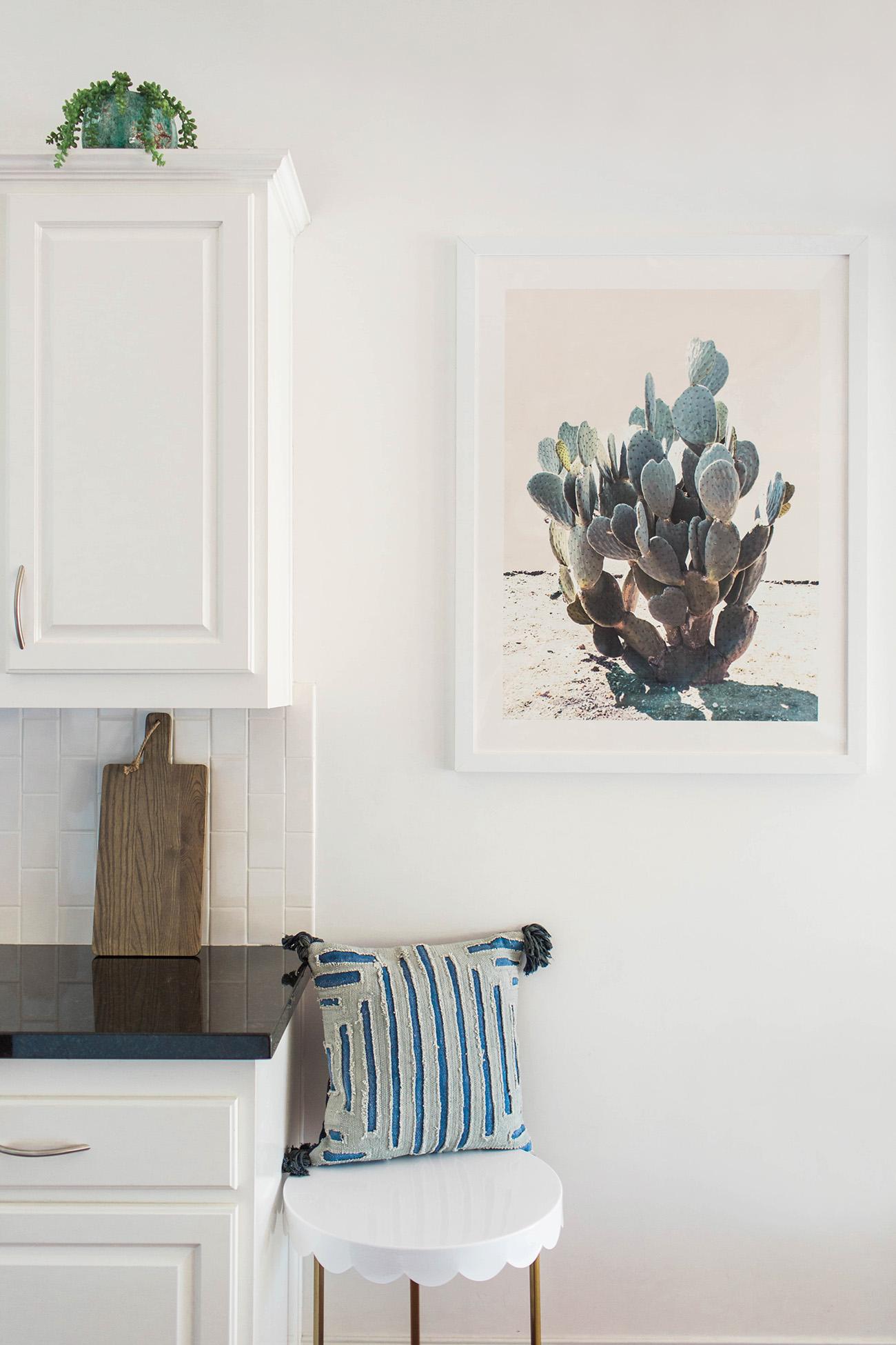 Minted Cactus Print