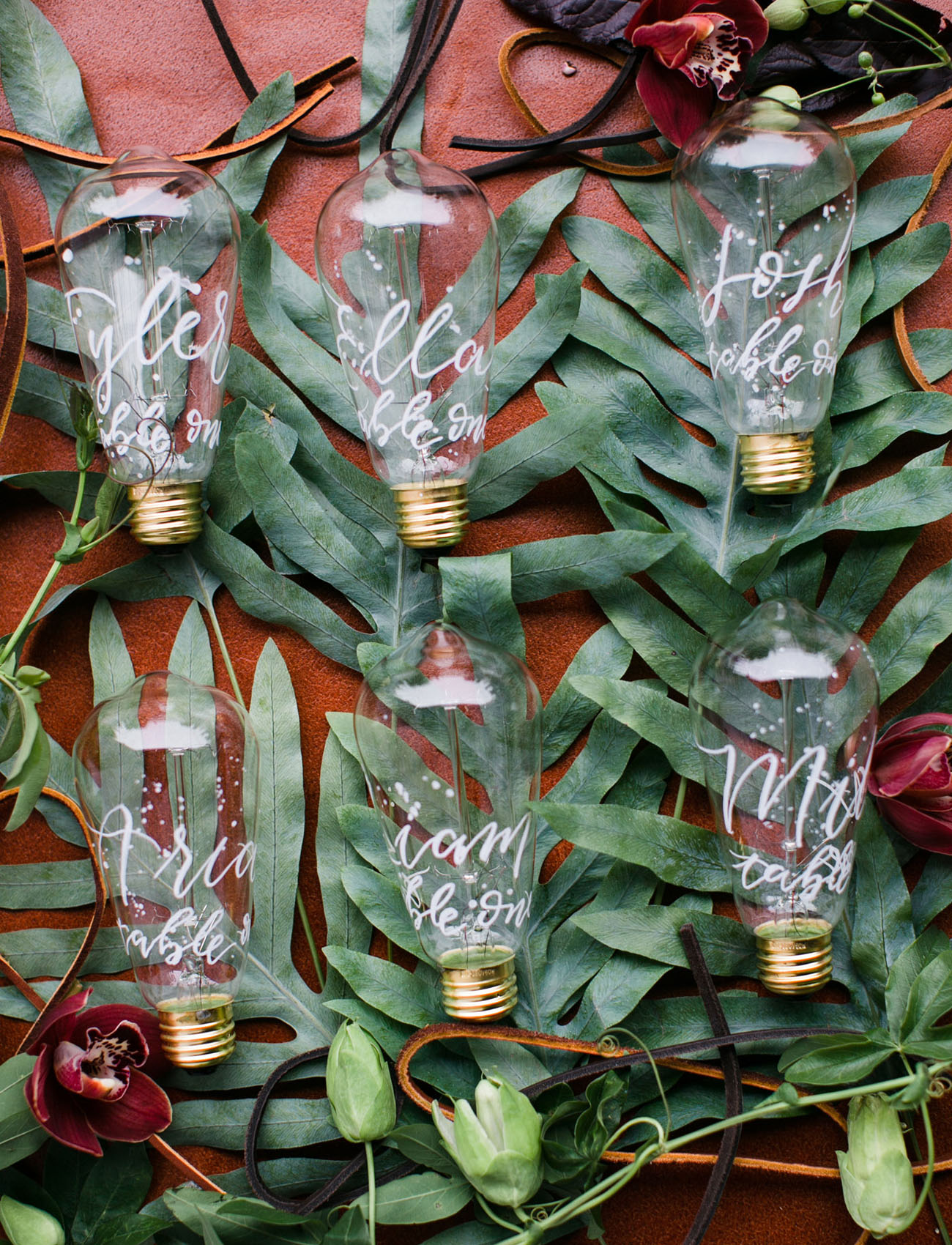 calligraphy bulbs