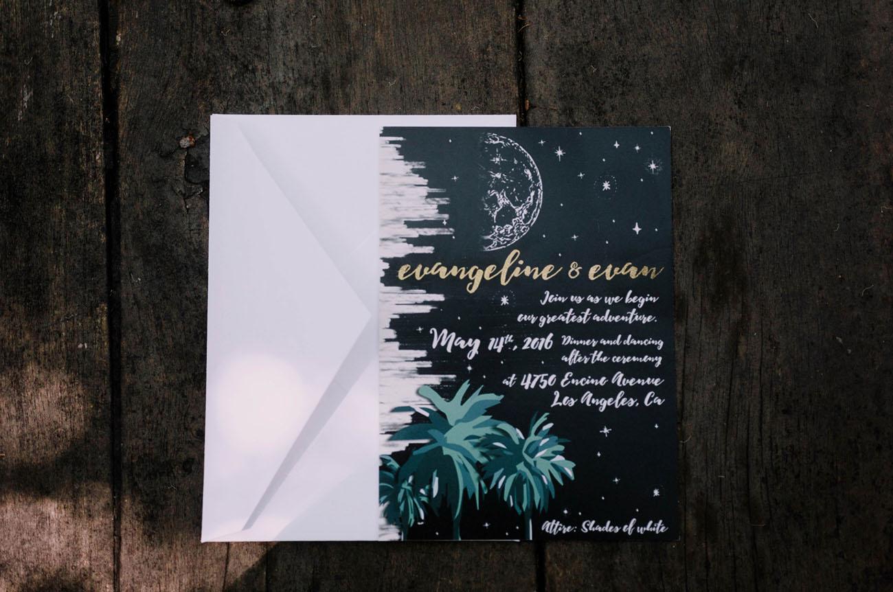 starry invitation