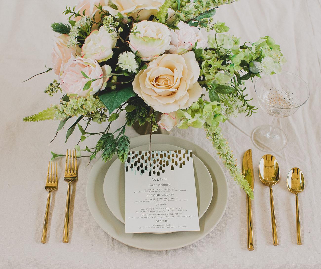 Diy Wedding Centerpieces: DIY: Silk Flower Centerpiece