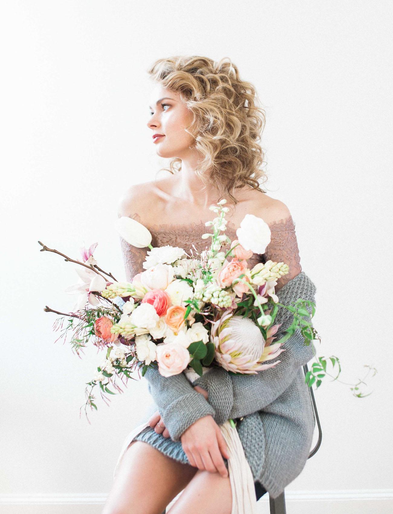 Floral Boudoir Inspiration