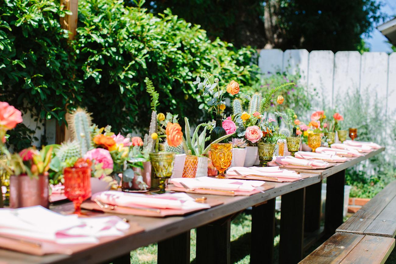 Colorful Old Towne Orange Wedding