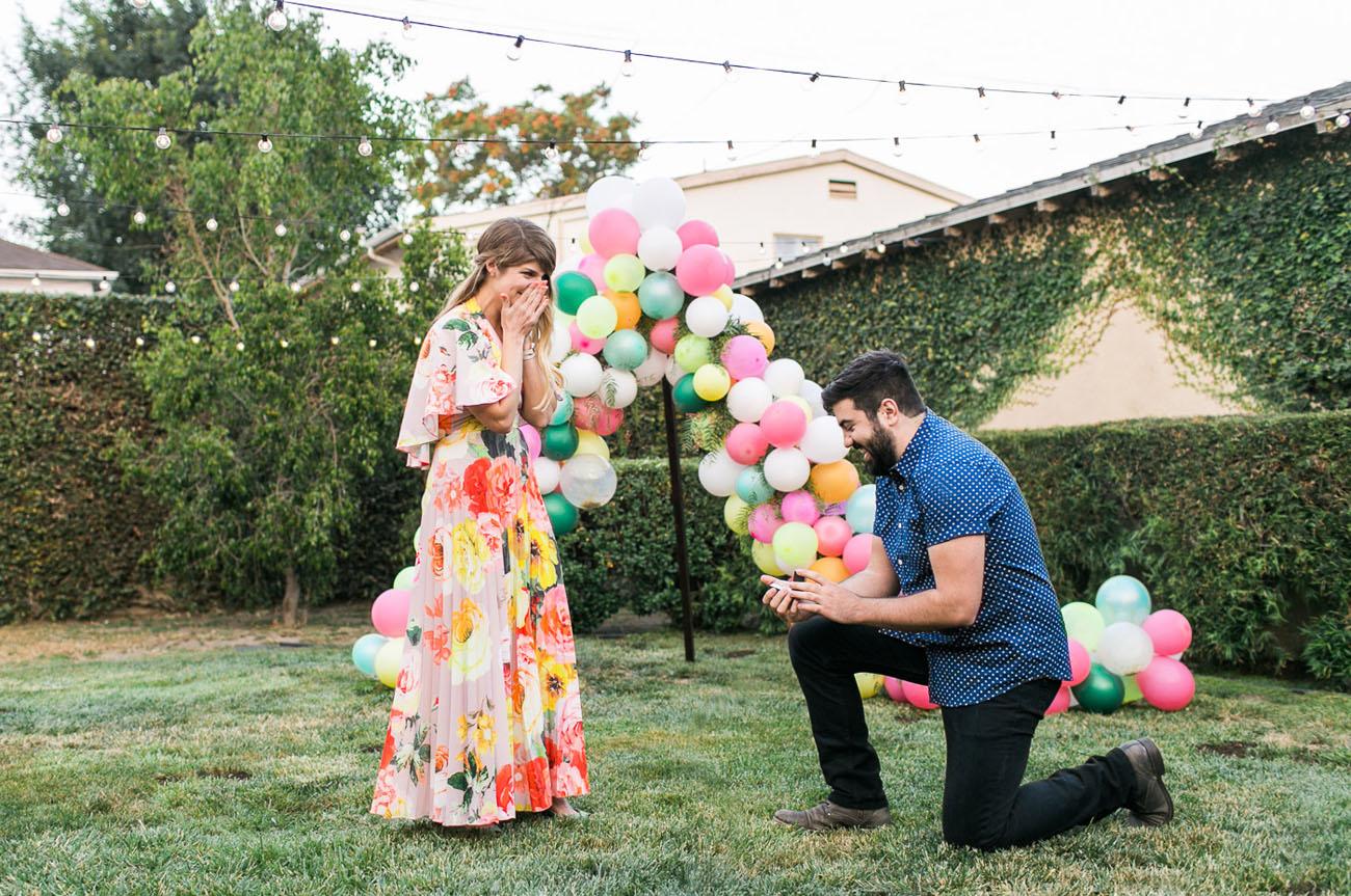 Colorful Backyard Proposal