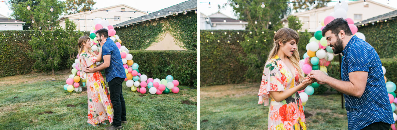 Colorful Backyard Proposal