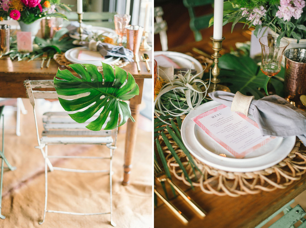 Modern Tropical Wedding Inspiration From Minted A 500