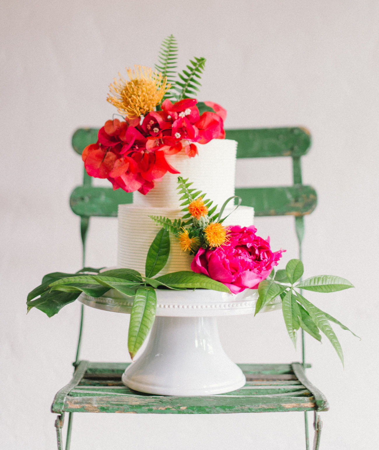 Modern Tropical Wedding Inspiration from Minted A $500