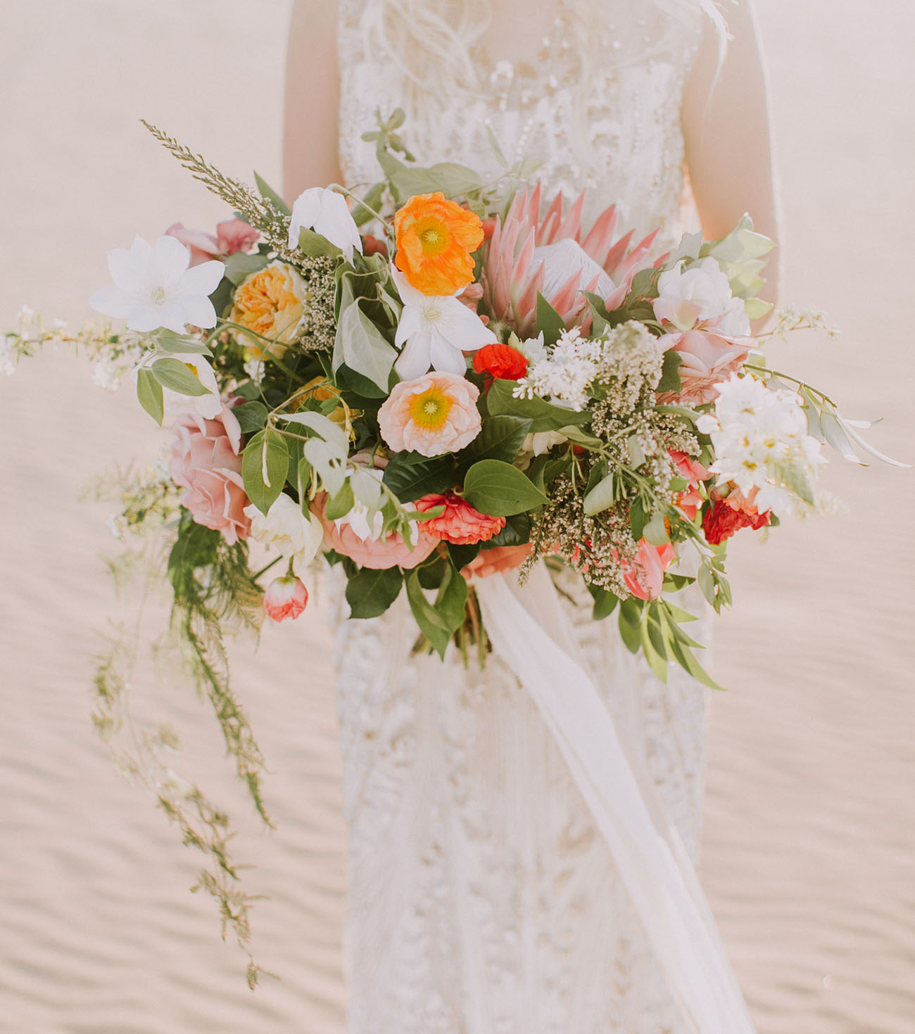 colorful desert bouquet