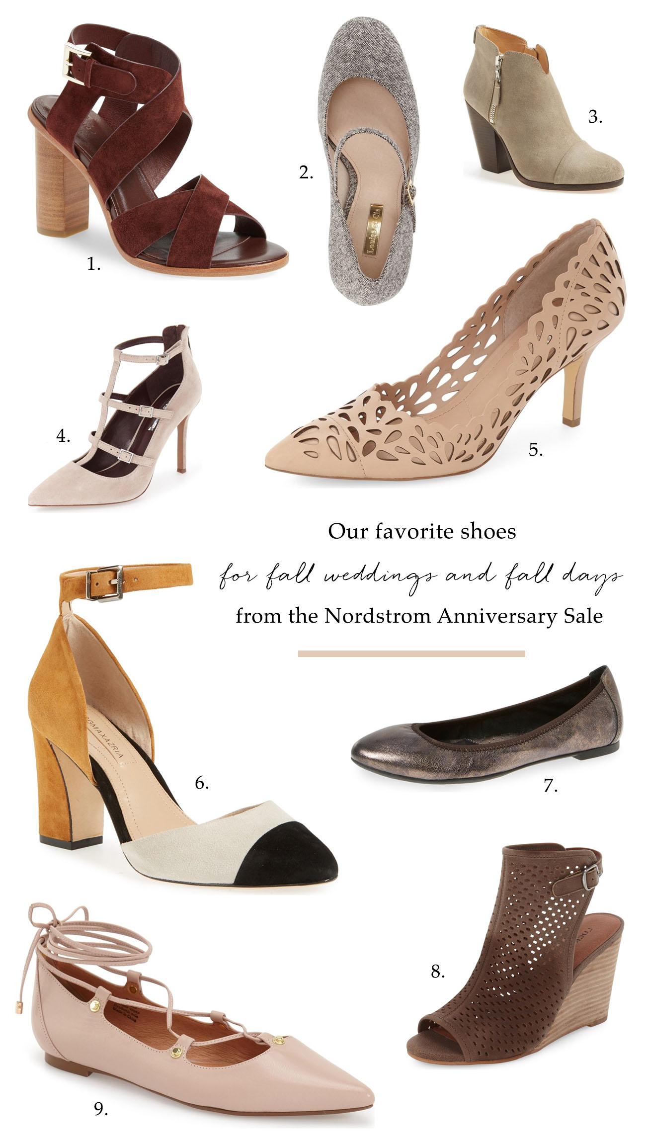 6ba3562701ad Tuesday Shoesday with the Nordstrom Anniversary Sale - Green Wedding ...