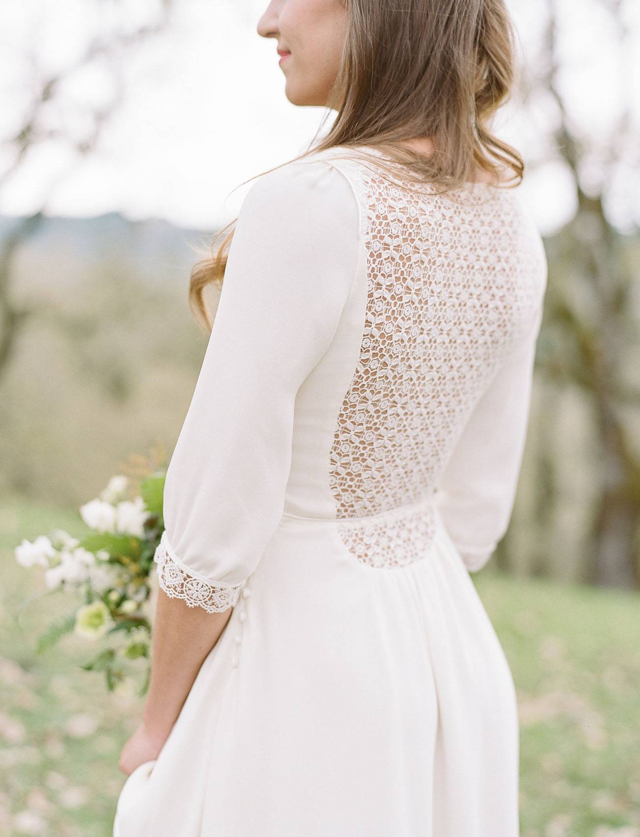 lattice back dress