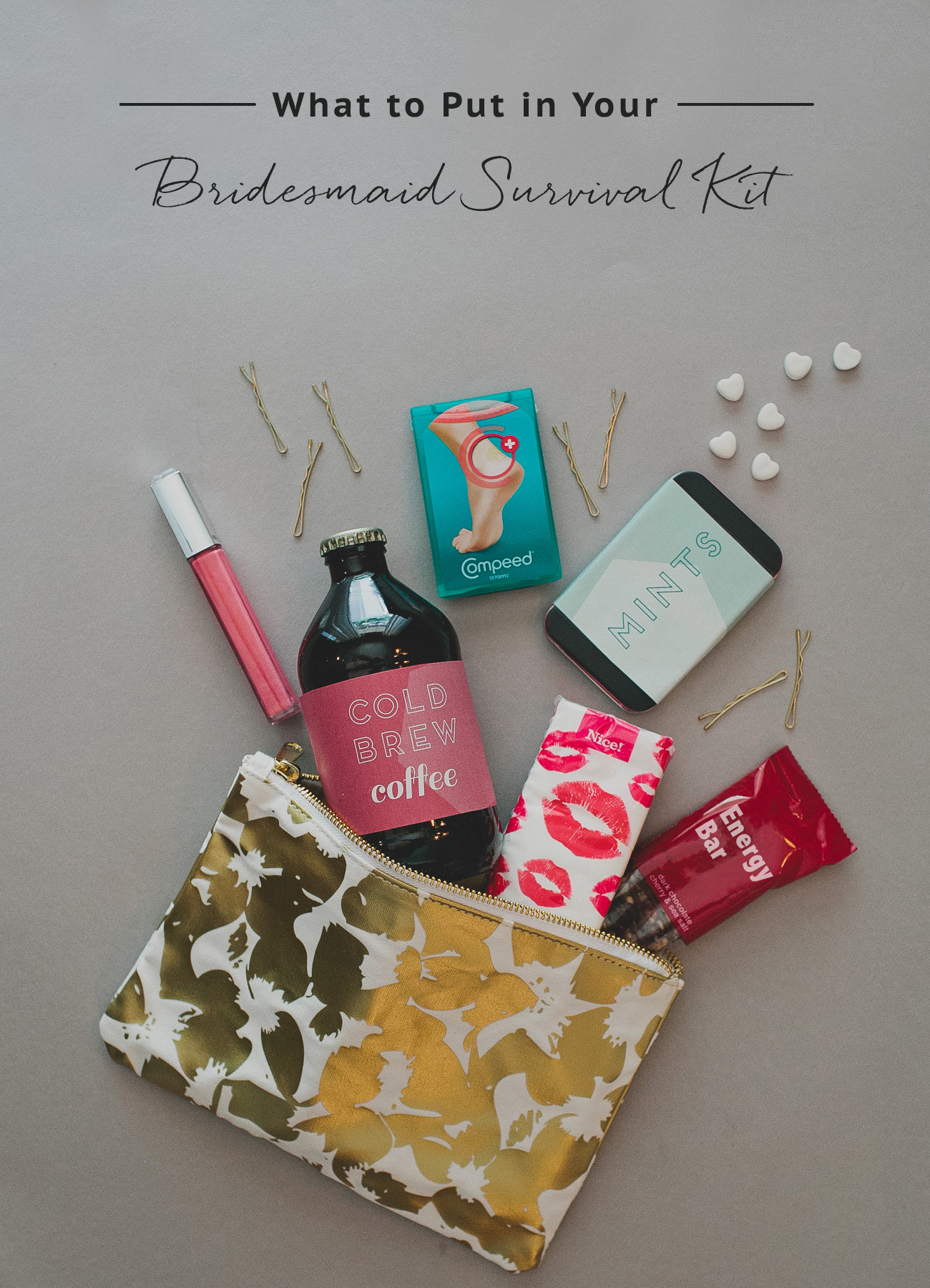 How to Create a Bridesmaid Survival Kit | Green Wedding ...