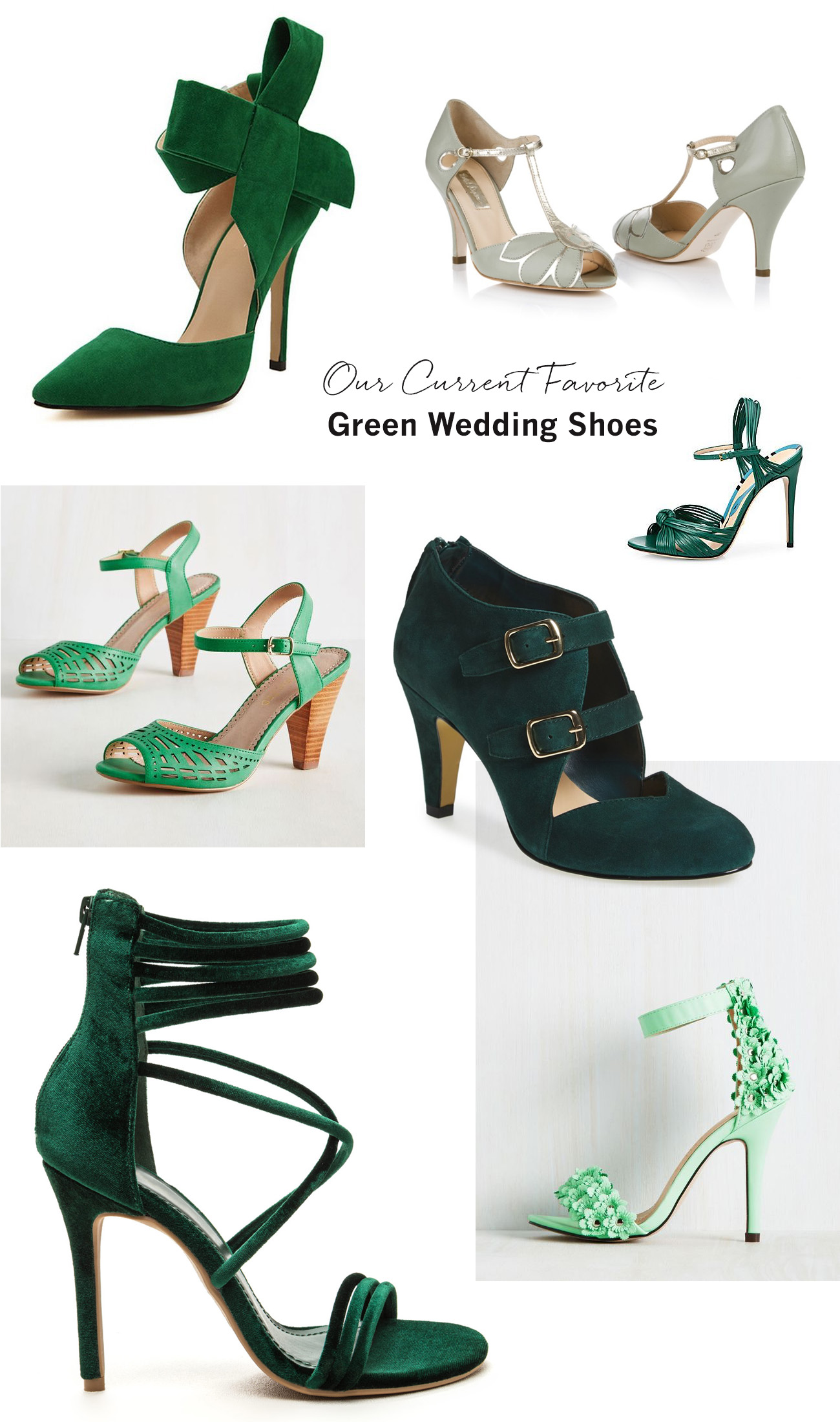 Favorite Green Wedding Shoes