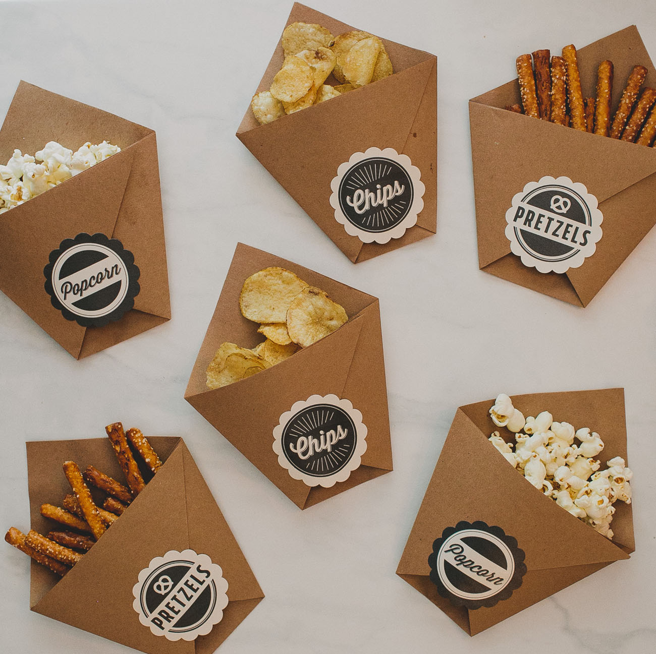 Wedding Favors Food: DIY Late Night Wedding Snacks
