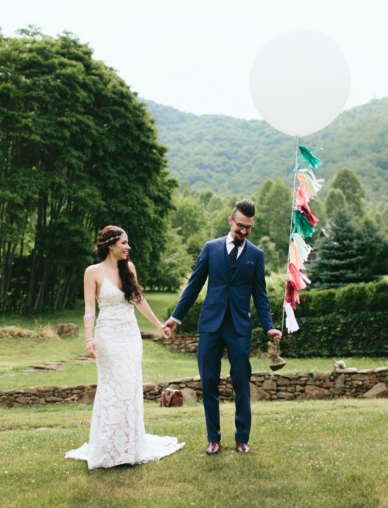 Artsy Bohemian Mountain Wedding: Sarah + Drew