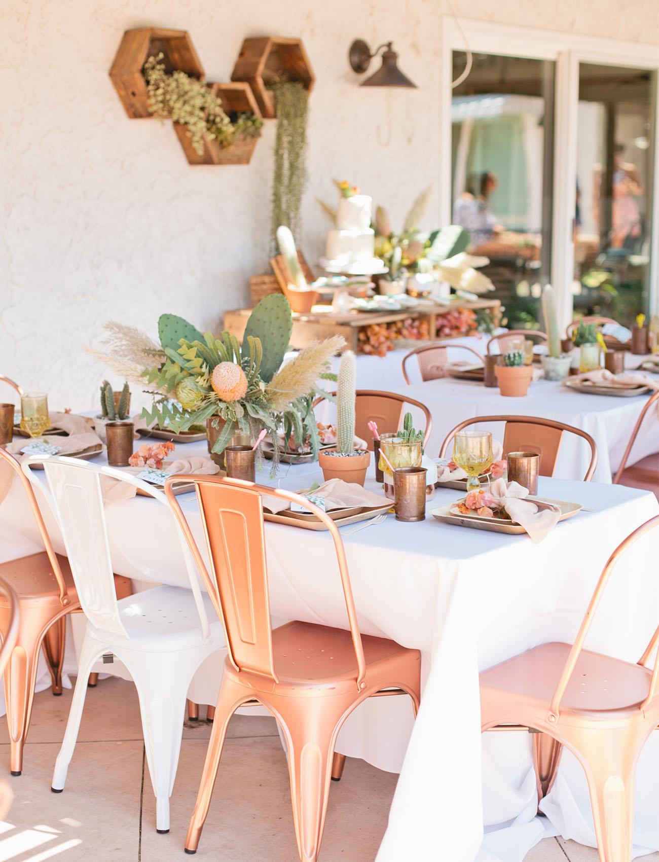 Cactus Bridal Shower