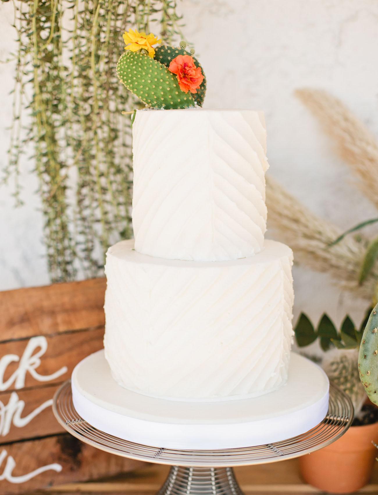 tendance mariage cactus cake topper