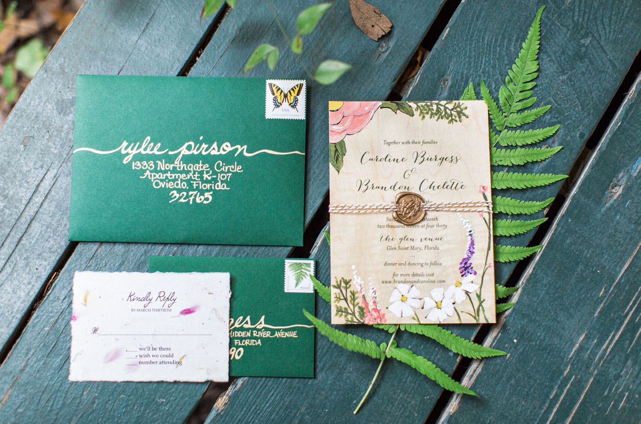 Boho Garden Invitation