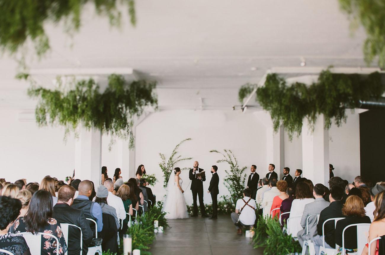 Modern Loft DTLA Wedding