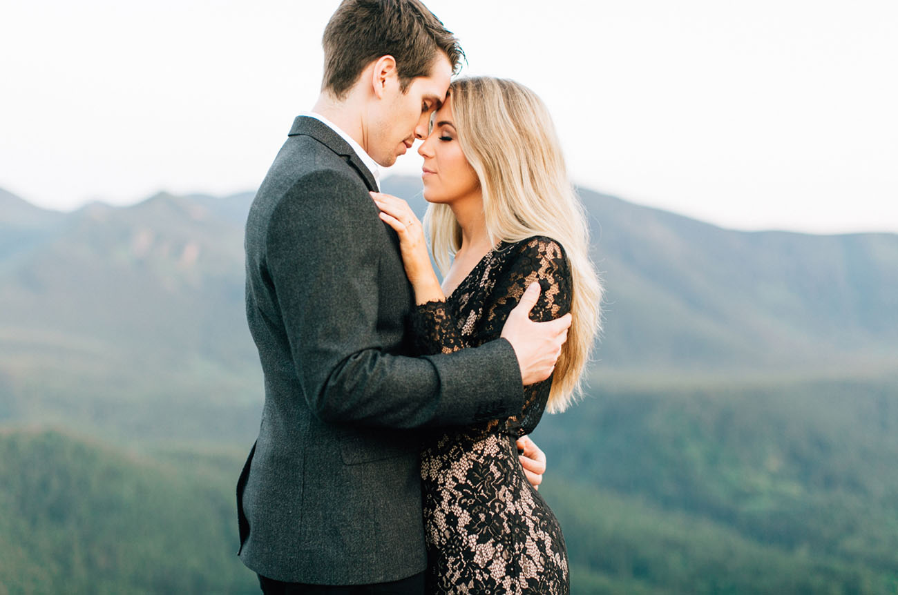 Glam PNW Engagement