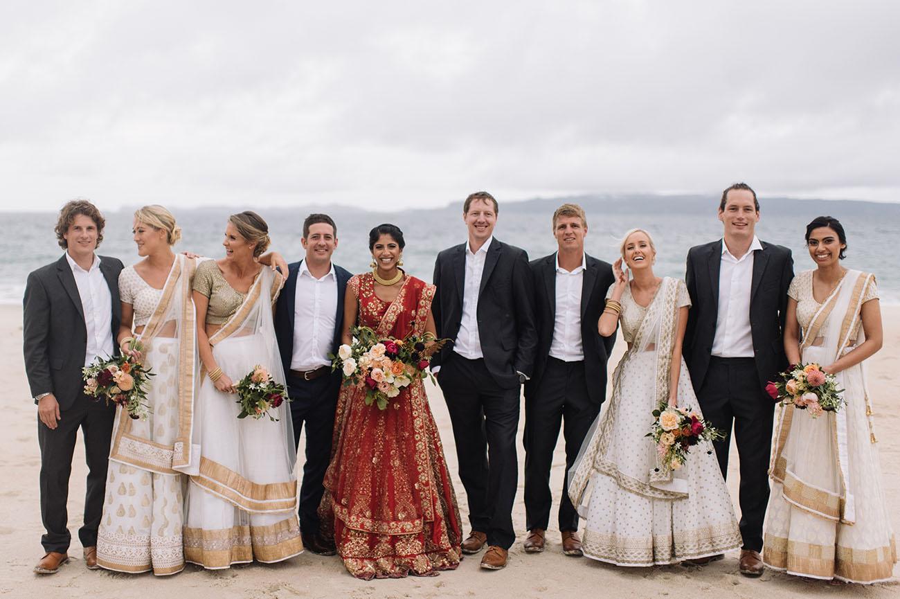 Indian Fusion New Zealand Wedding: Aarti + George - Green Wedding ...
