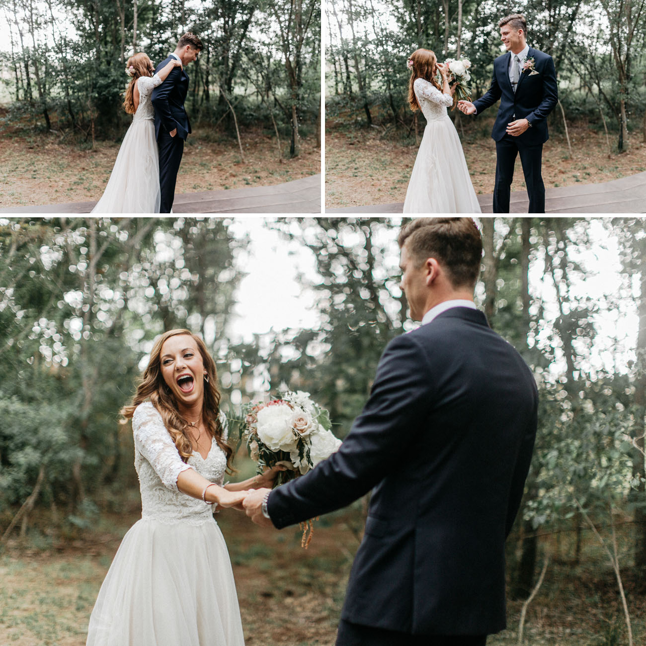 Enchanted Forest Wedding in Oklahoma: Peyton + Colton - Green ...
