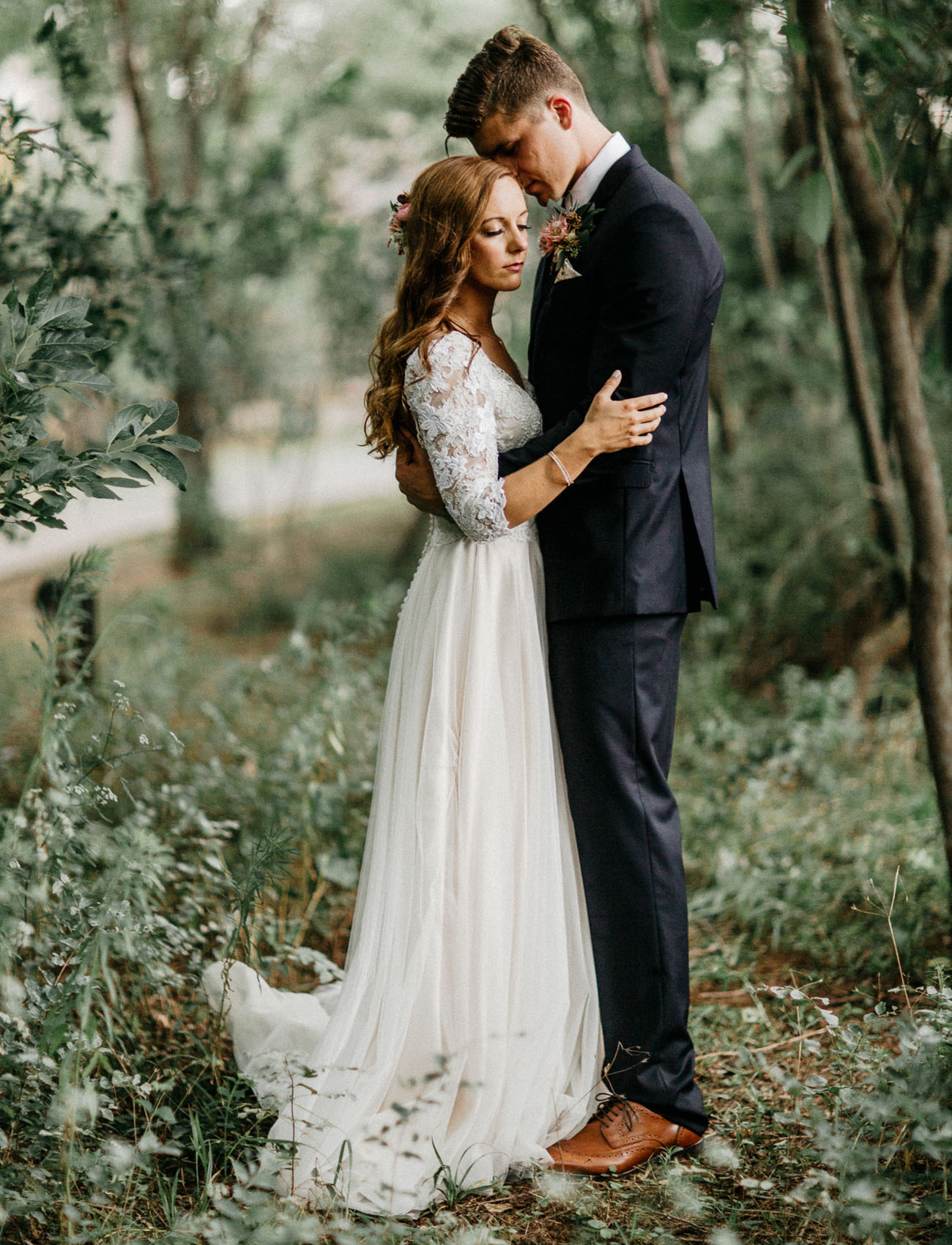 Enchanted Forest Wedding in Oklahoma: Peyton + Colton ...