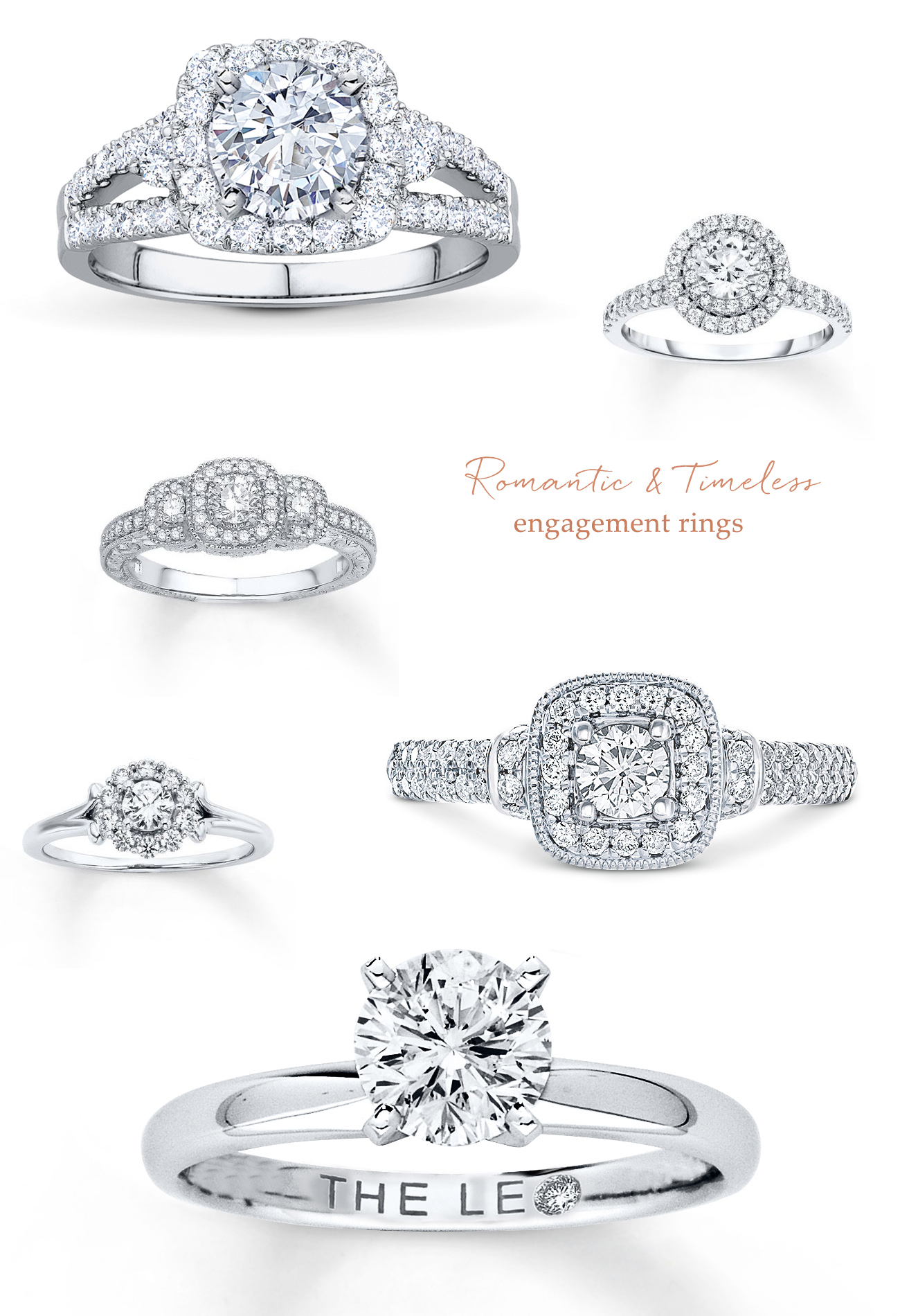 timeless engagement rings from JARED