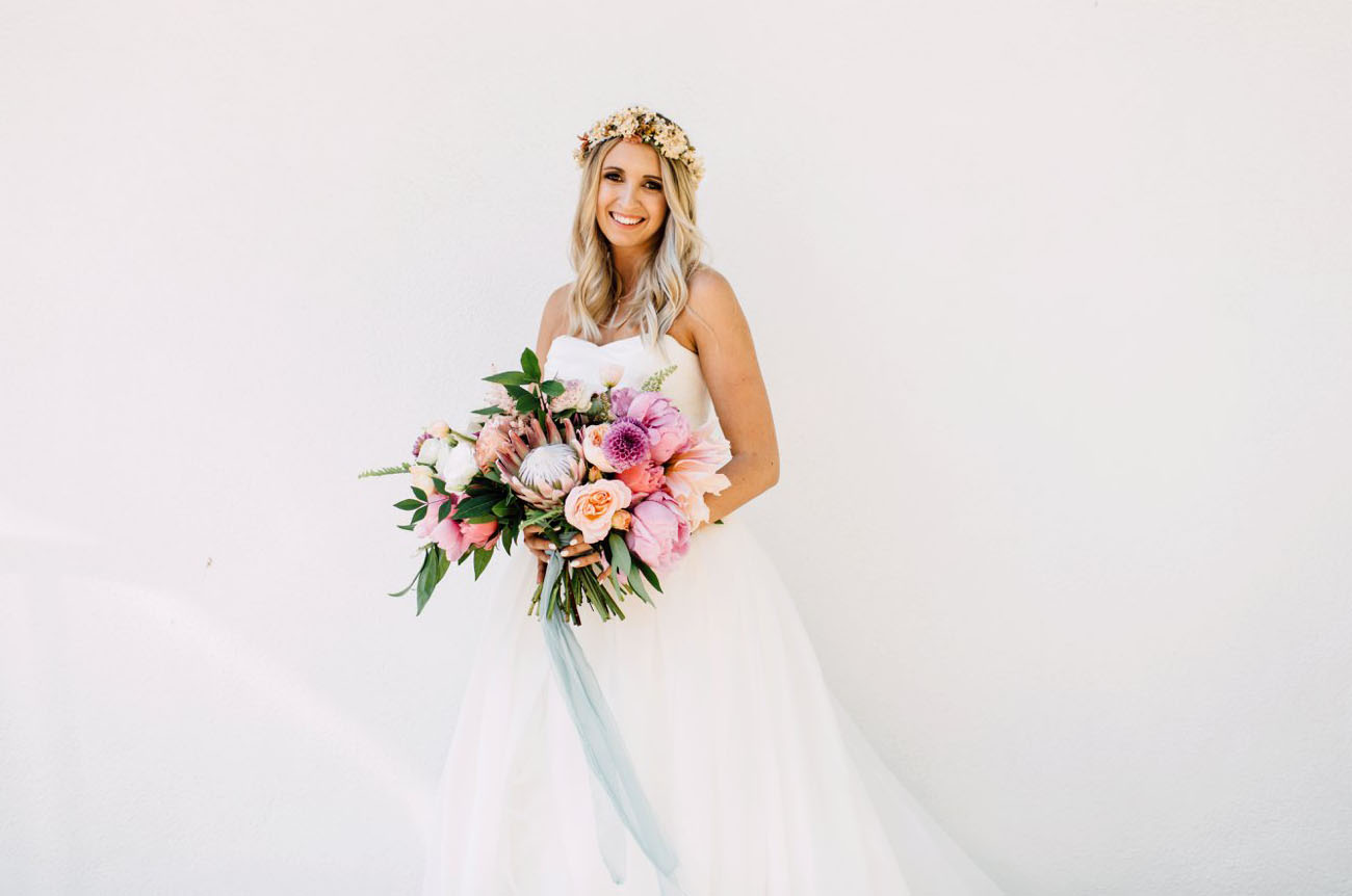 Tropical Boho Wedding