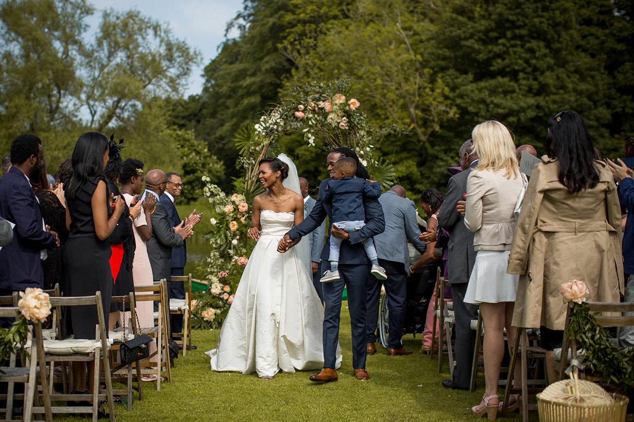 Tropical UK Wedding