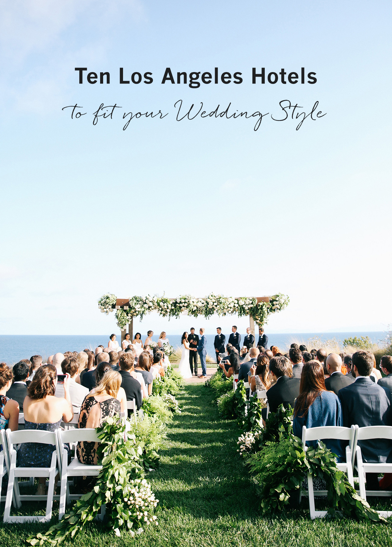 Chic Terranea Resort Wedding