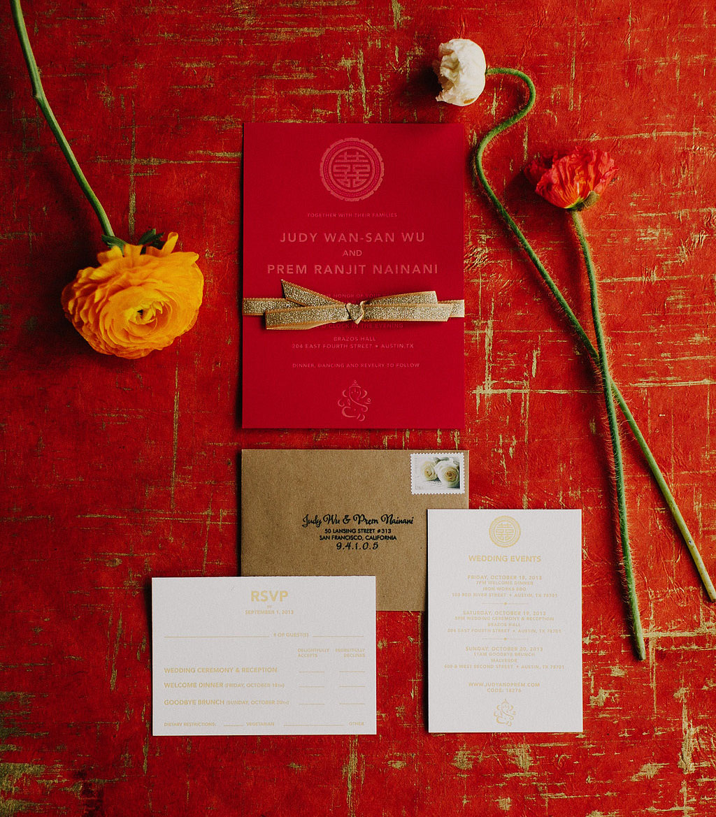 red invitation