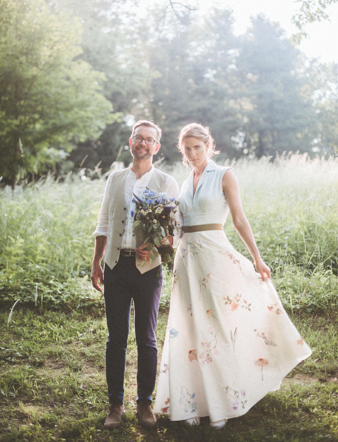 floral bridal skirt