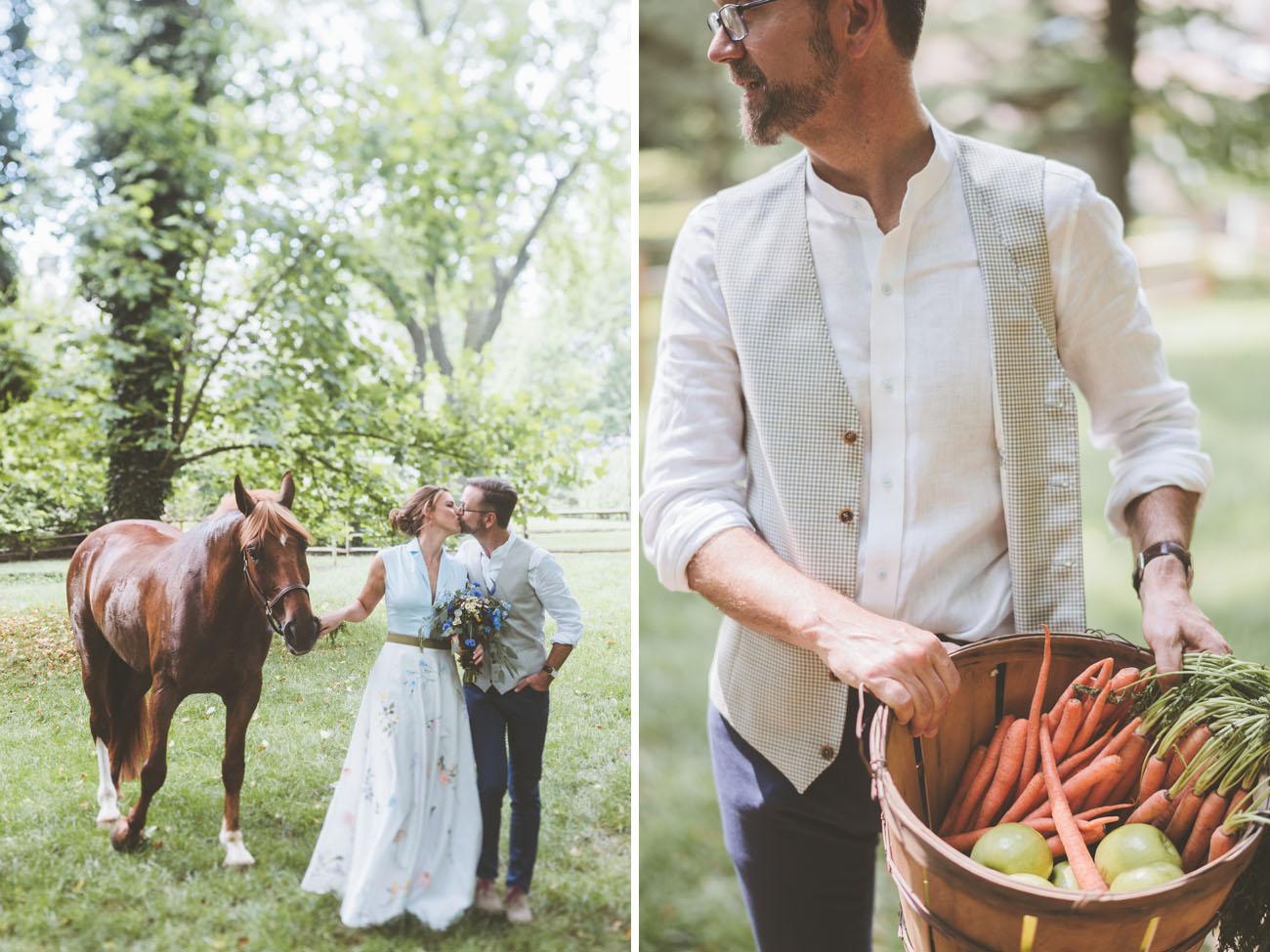 Backyard Pennsylvania Wedding