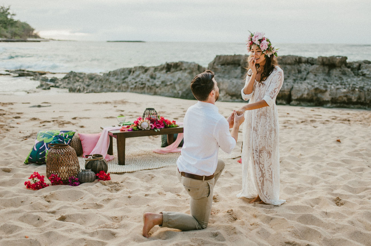 Wedding Proposal Women also contribute their fair share of proposal ideas... but without putting a ring on it. Find out how brides should propose...