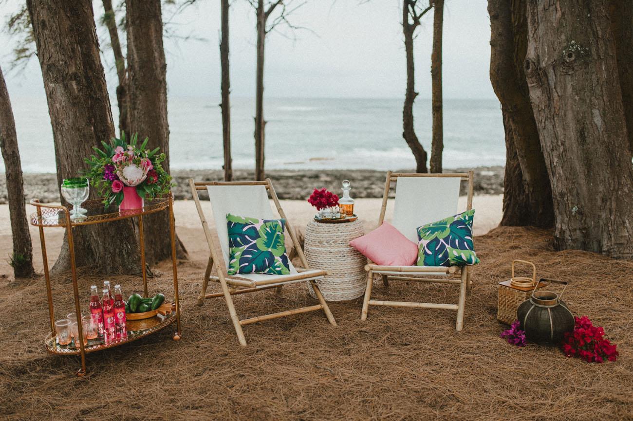 surprise beach proposal