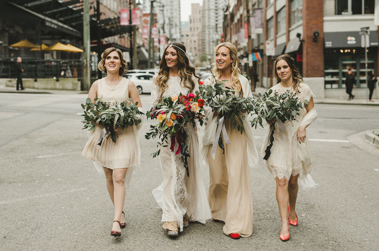 city bridesmaids