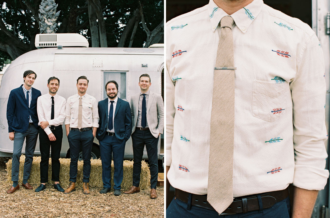 groom printed shirt
