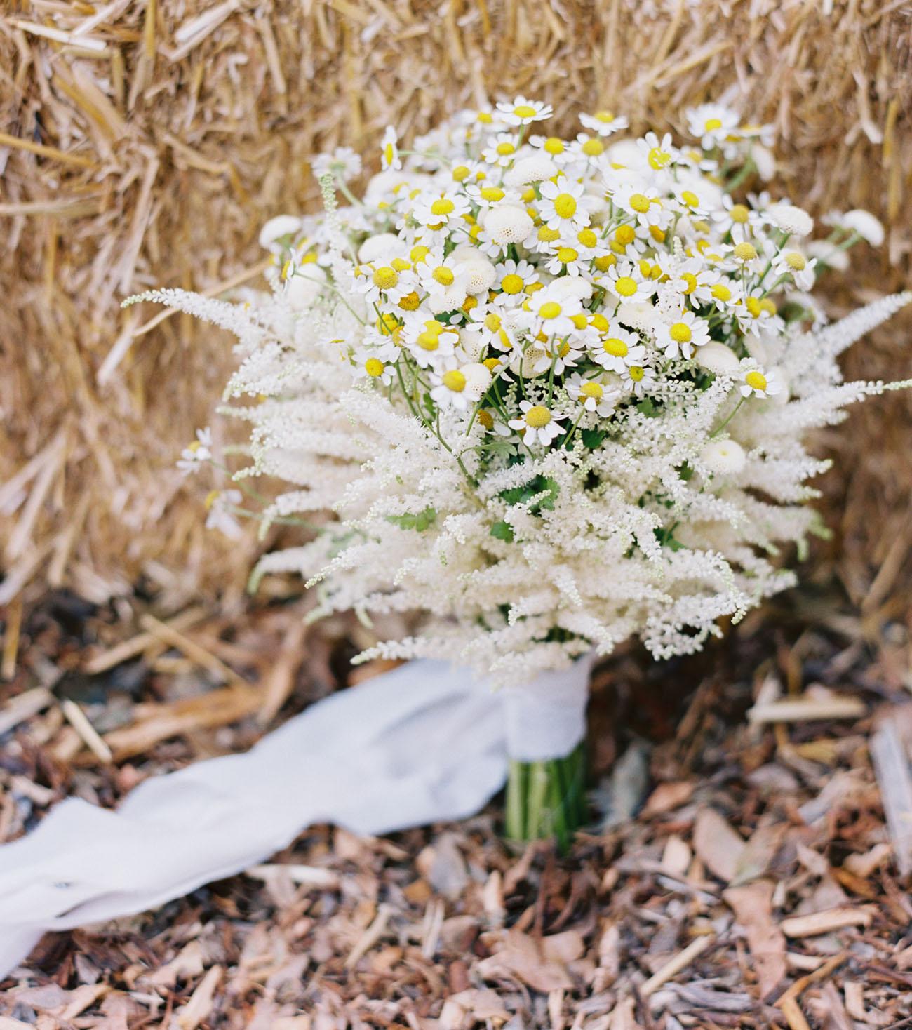 rustic wildflower bouquet