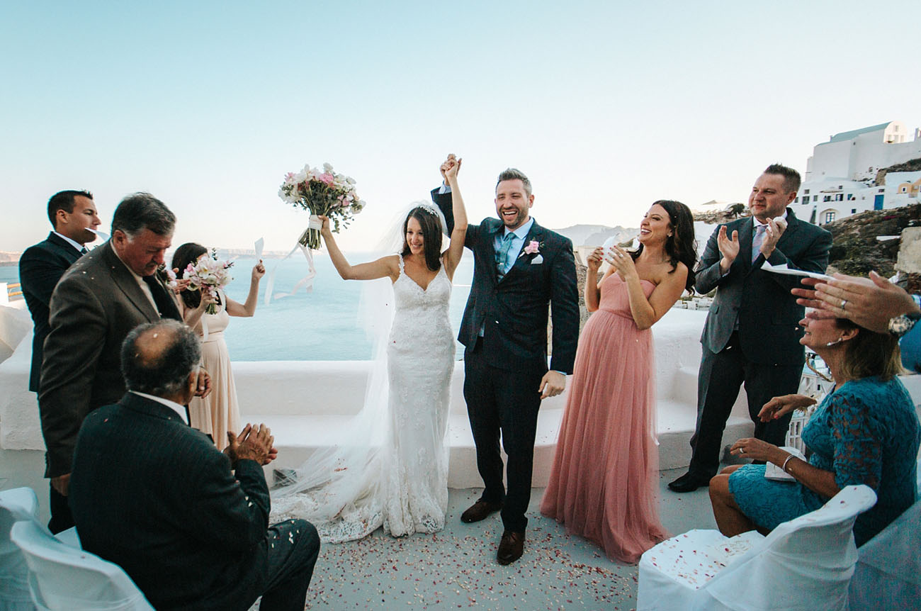 Greek Isle Wedding