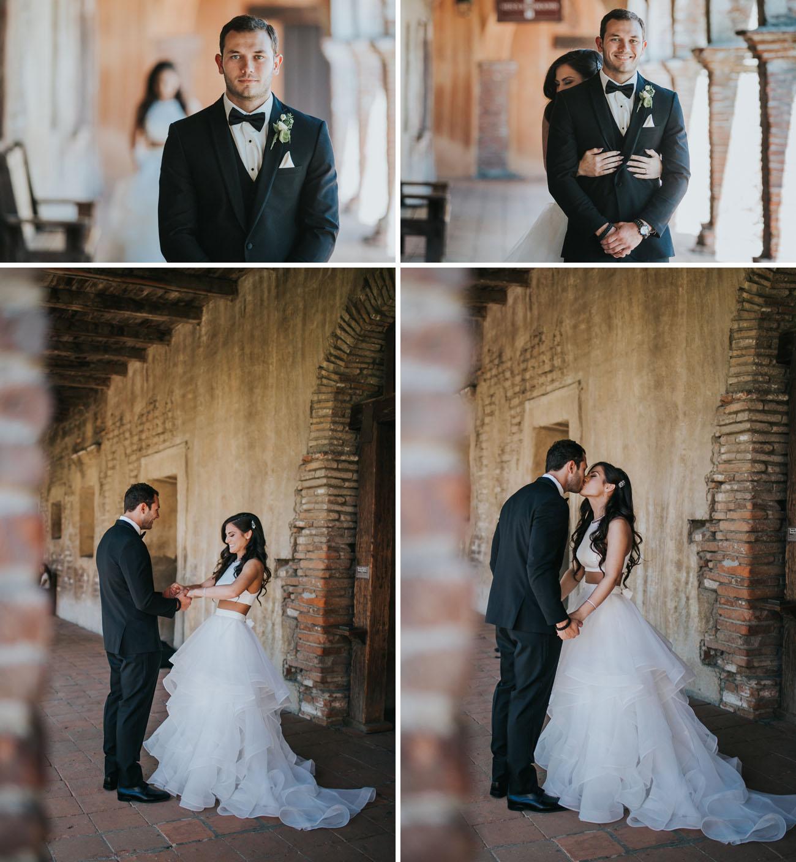 Geometric Garden Wedding Michaella Jordan