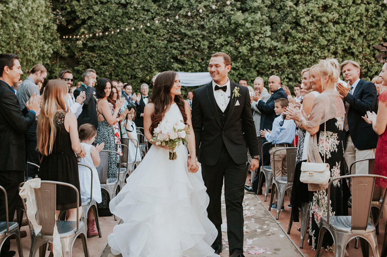 Geometric Garden Wedding
