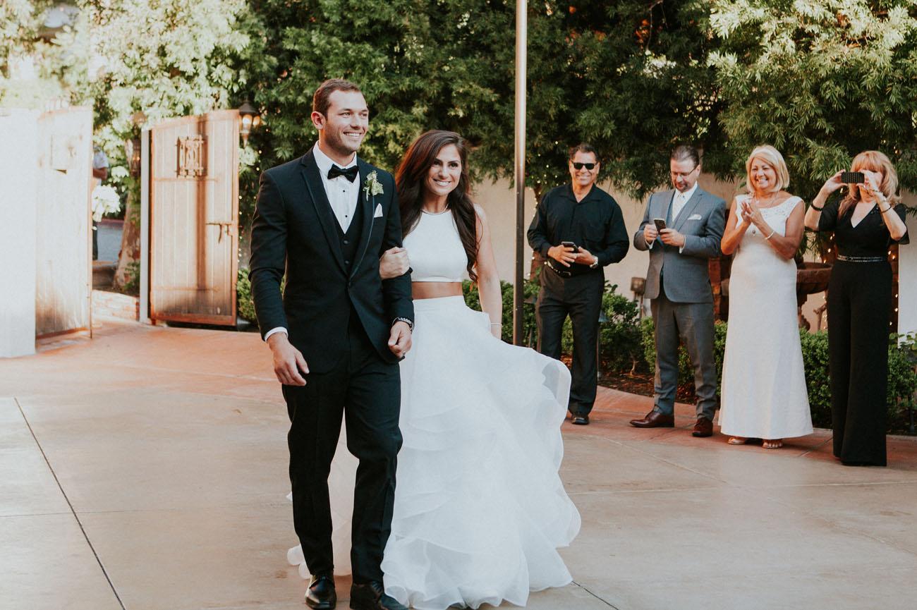 Geometric Garden Wedding