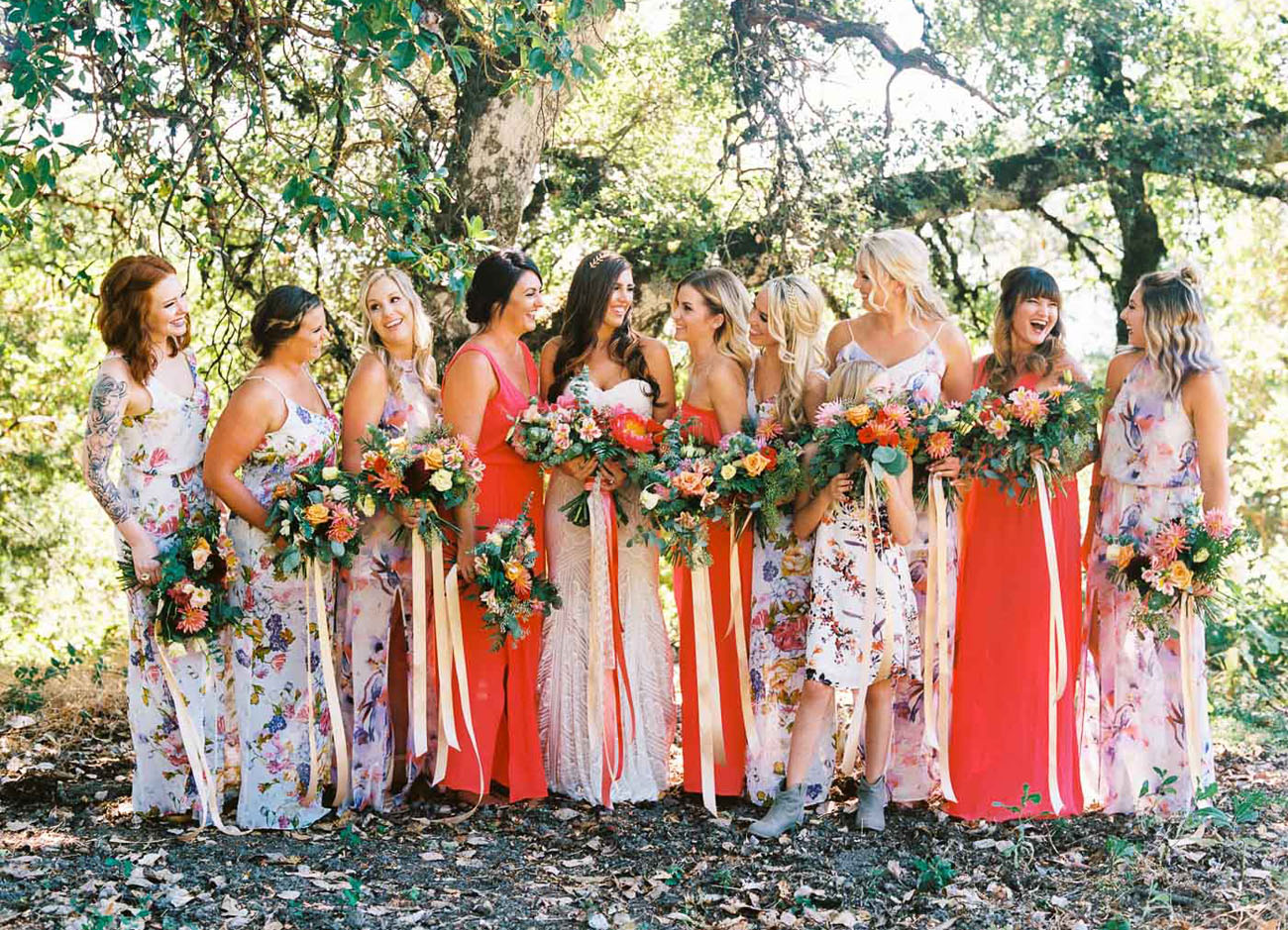 Rustic + Colorful Bohemian Wedding: Kelly + Ben