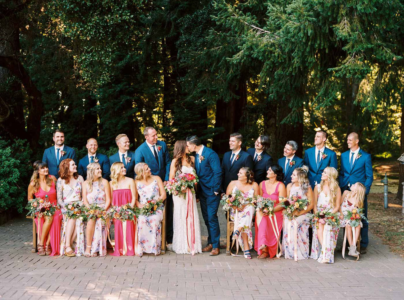 Colorful Boho Wedding