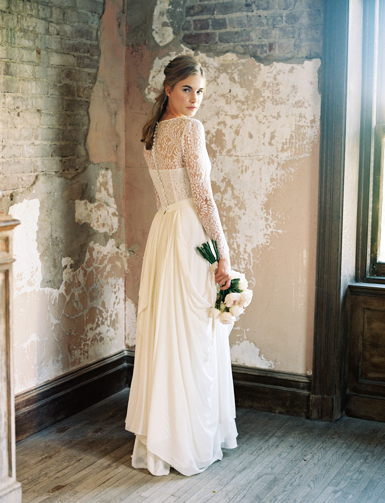 Romantic, Mix & Match Wedding Dresses from Lace & Liberty - Green ...
