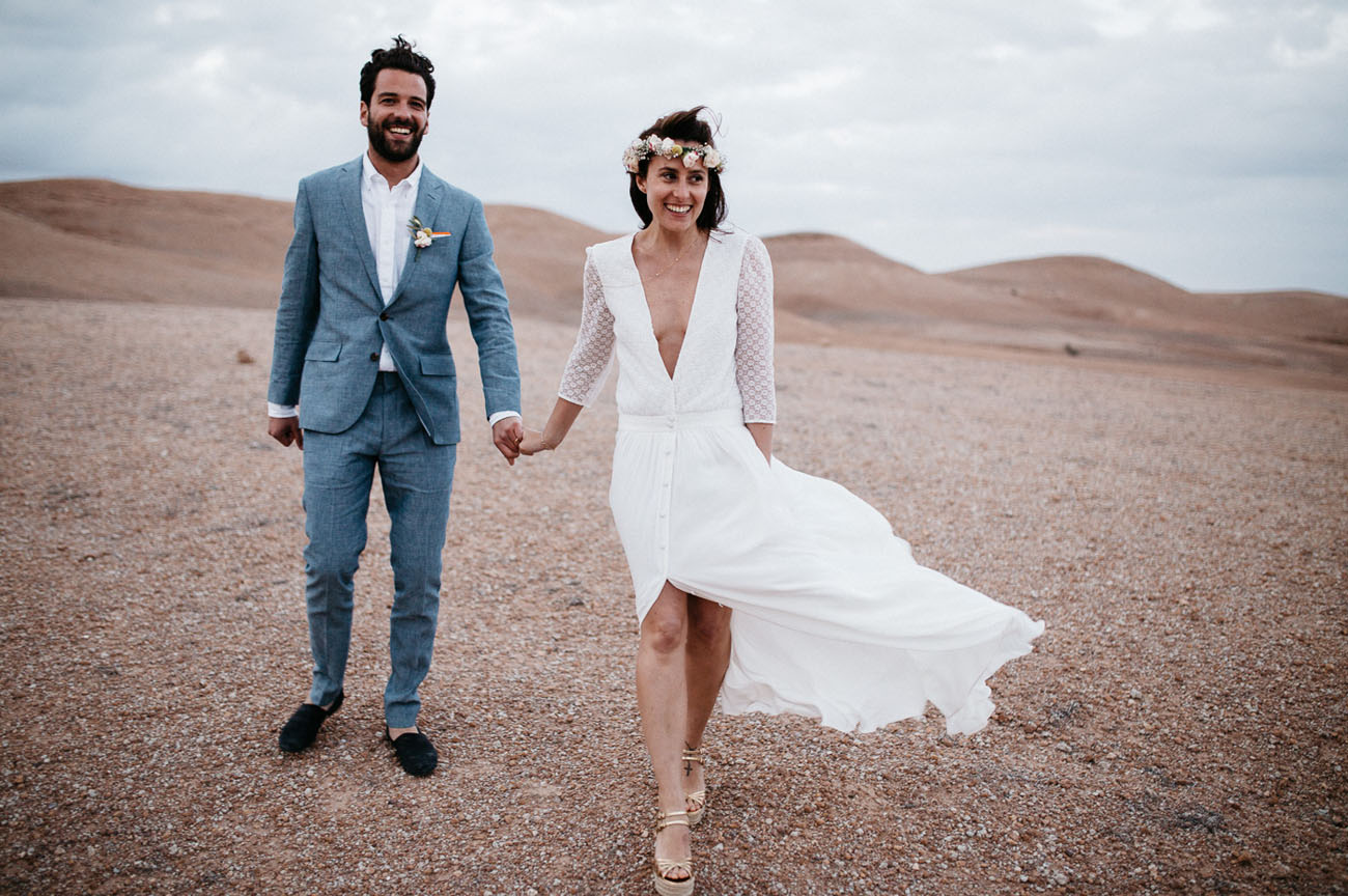 Summer Wedding in the Moroccan Desert: Tiffany & PJ