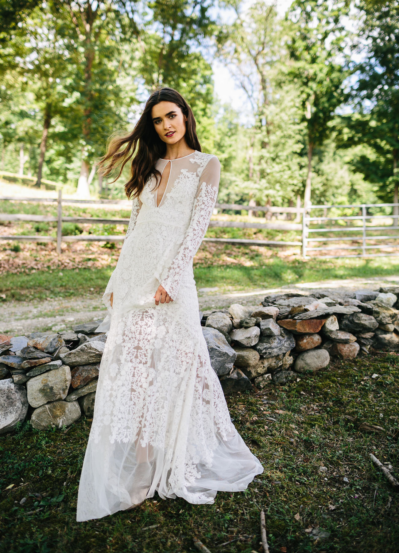 Vintage Wedding Dresses Los Angeles : Vintage wedding dress is what you choose the boho dresses from
