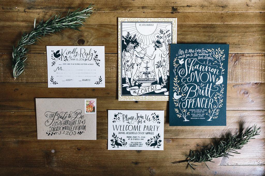 quirky invitations