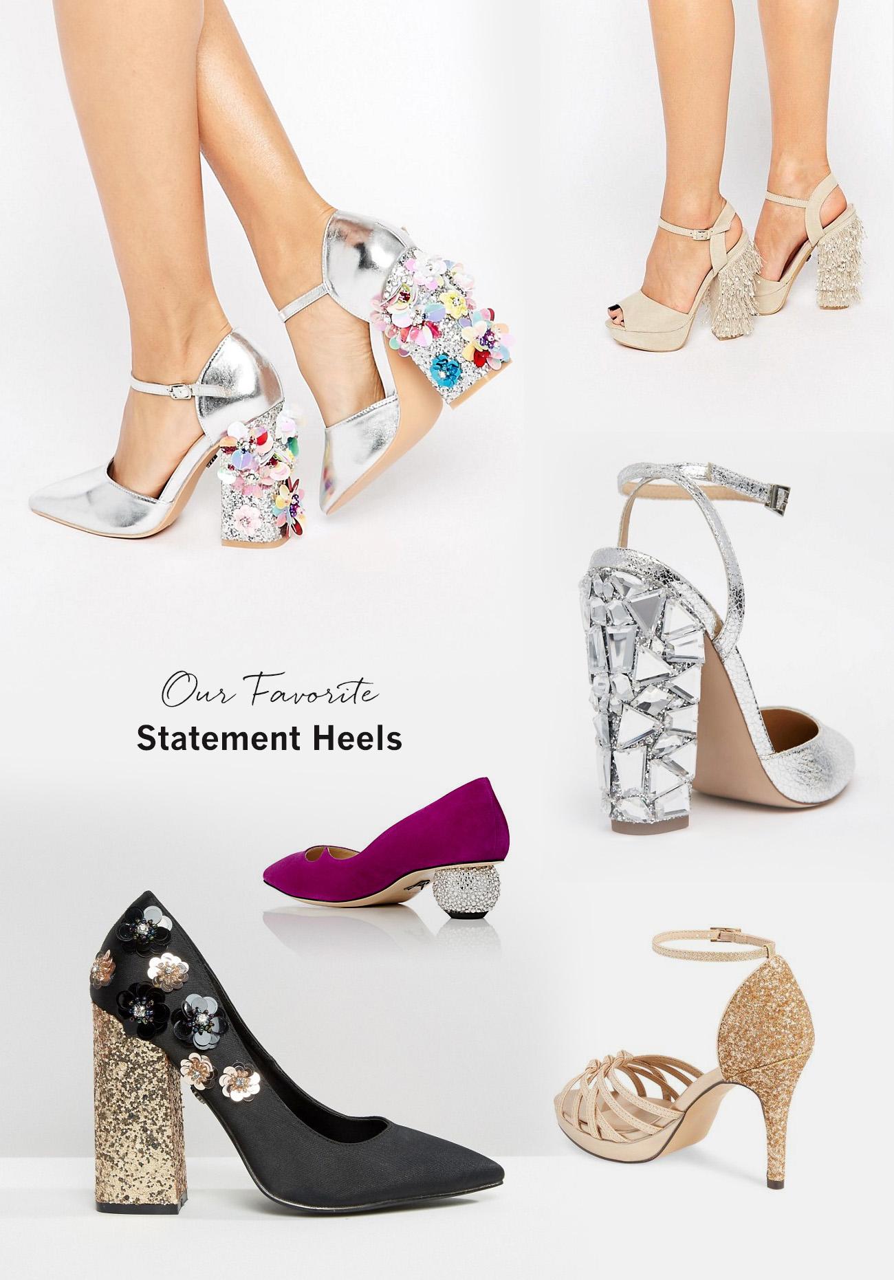 statement heels