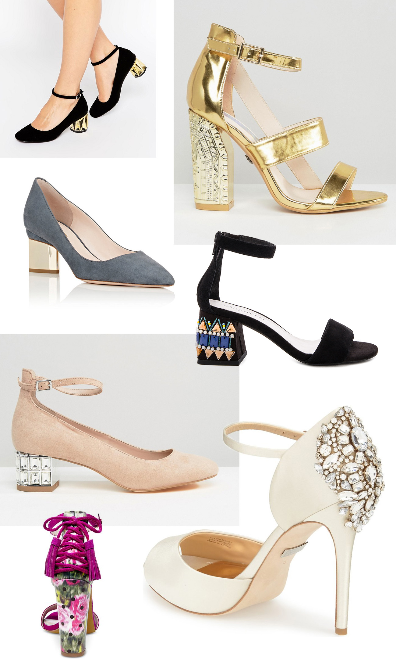 Our Favorite Shoes With Statement Heels Green Wedding Shoes