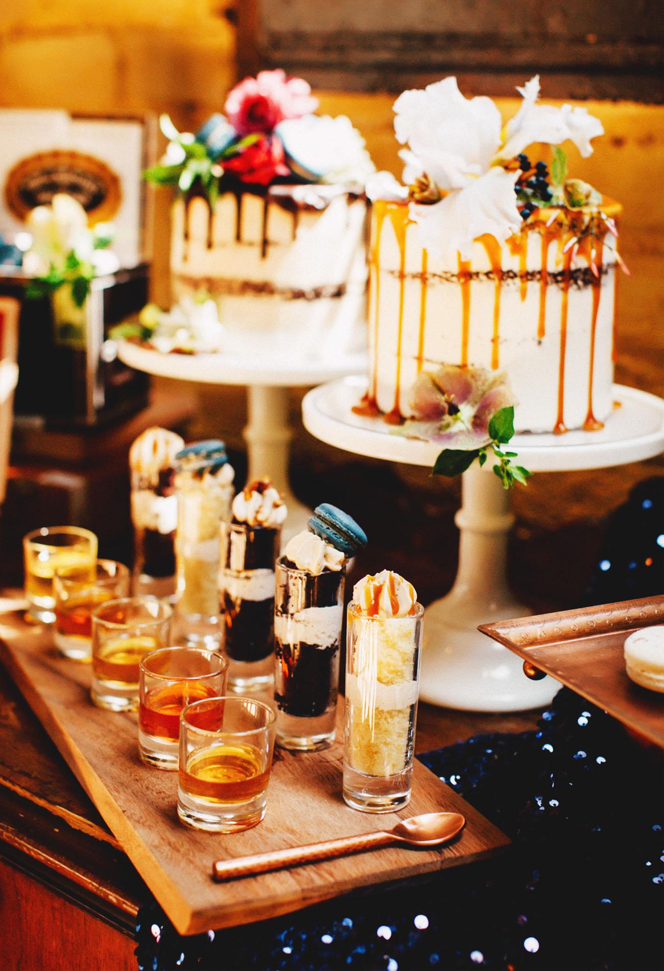 Whiskey Tasting Bachelorette Party Inspiration